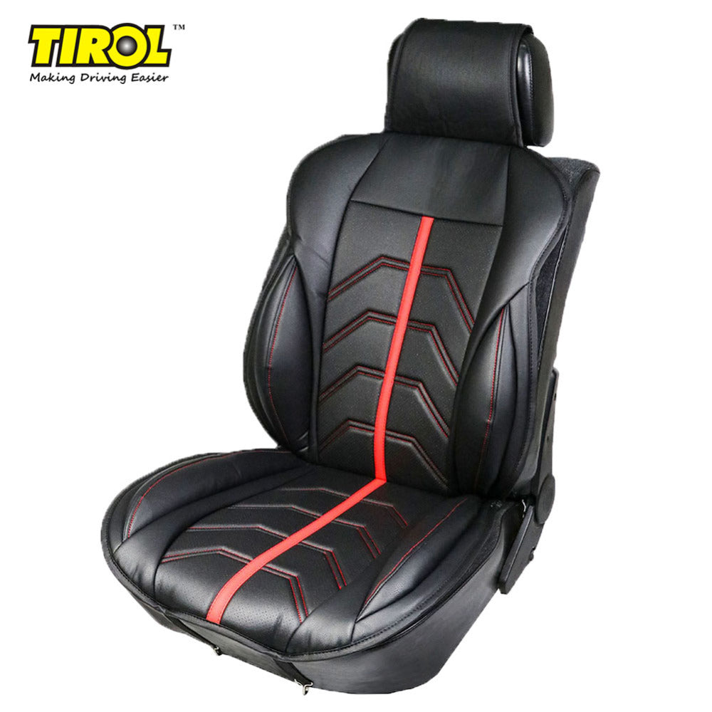 Front Car Seat Cover From PU Leather For Crossovers SUV Sedans - TIROL LTD