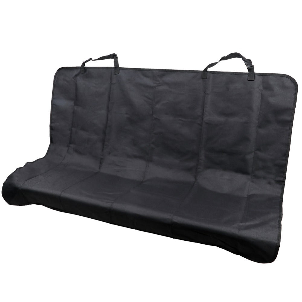 TIROL T14668b New Car Back Water-proof Seat Cover Pet for Cat Dog  Protector Mat Rear Safety Travel Black - TIROL LTD