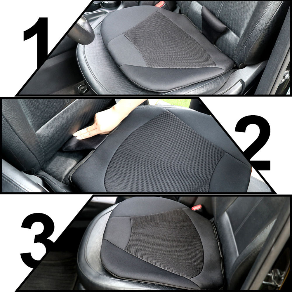 TIROL Universal Breathable Car Seat Cushion For Drivers Or Office Chair Orthopedic T24098b