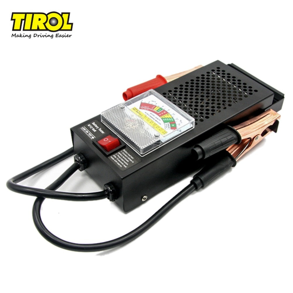 Battery Accessories Tirol Ltd Voltage Indicator T16594b Digital Car Automative Vehicular Auto Tester Checker Analyzer 12v 100a