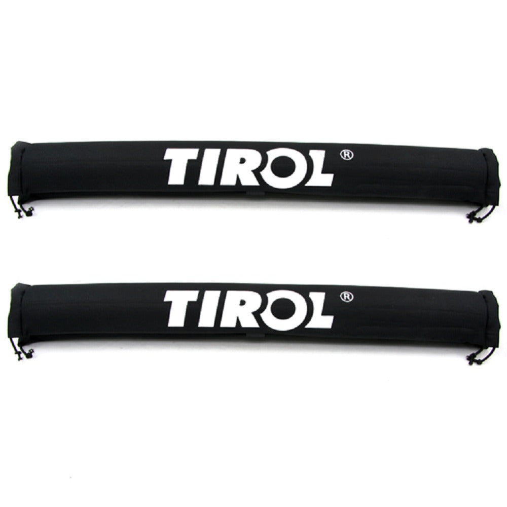 TIROL T21877b Pair Soft Roof Rack Black Luggage Rack Outdoor Portable Removable Roof Of Skis Frame - TIROL LTD