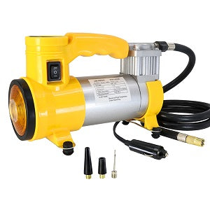 Portable Super Flow 12V150PSI Car Air Compressor - TIROL LTD