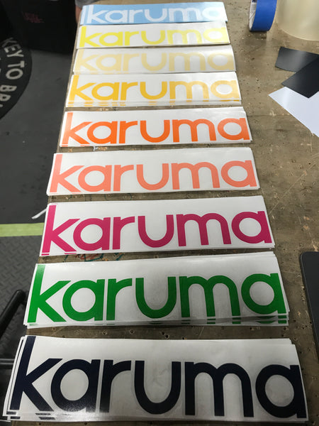 "11"" OG Karuma decal"