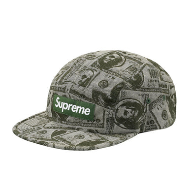 96a99c914e9 Supreme 100 Dollar Bill Camp Cap - Green
