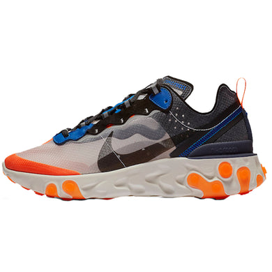 Nike React Element 87 - Grey/Blue/Orange