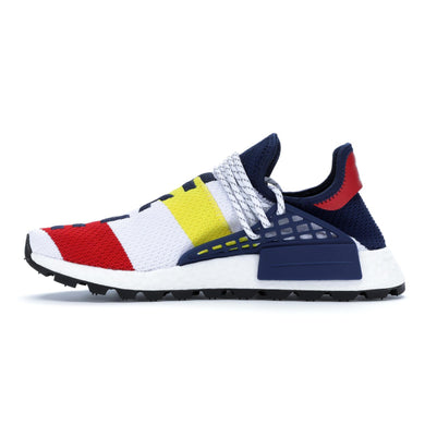 Adidas Originals x Pharrell Williams x BBC Hu NMD - White/Multicolor
