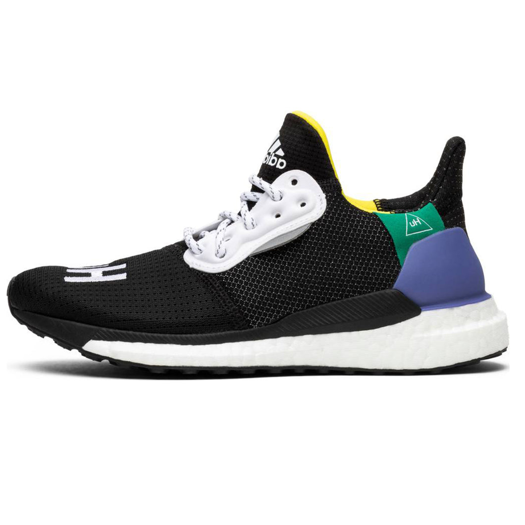 big sale 84d0d 57c6f Adidas x Pharrell Williams Solar Hu Glide ST Women s - Black