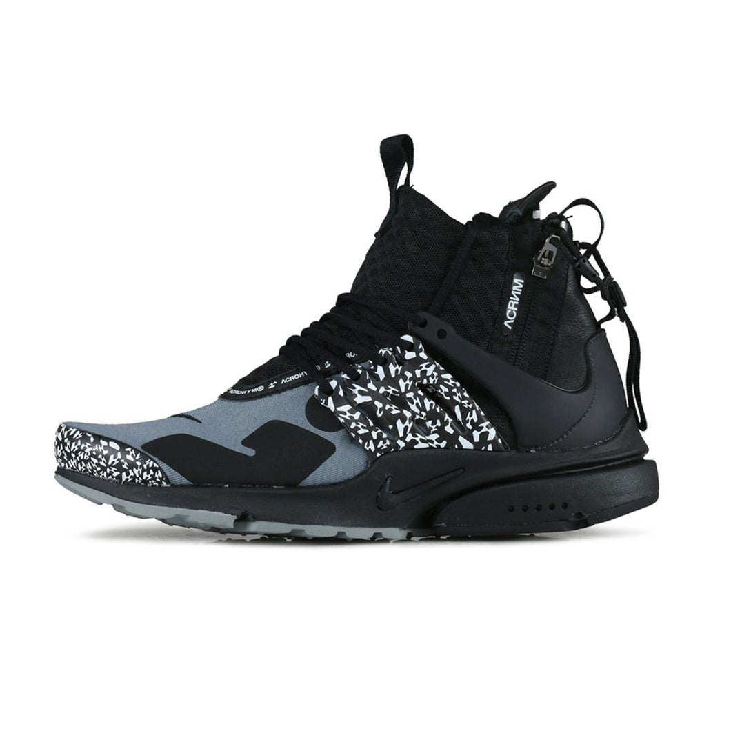 quality design c2185 3c8fb Nike x ACRONYM Air Presto Mid - Black Grey