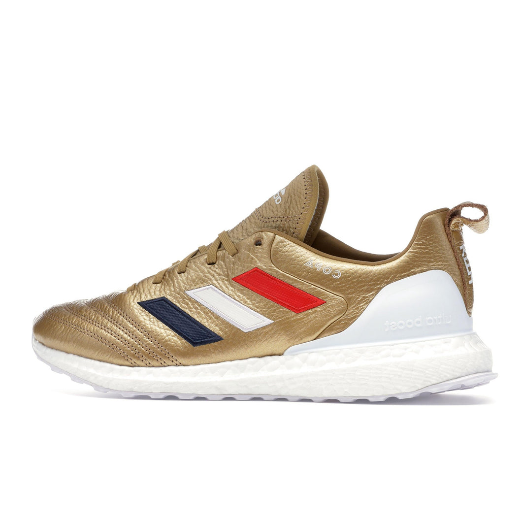 uk availability bfa50 673df Adidas x Kith Copa Mundial 18 Ultra Boost - Golden Goal