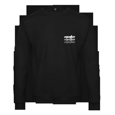 YEEZYMAFIA MafiaSZN Triple Logo Long Sleeve Shirt - Black