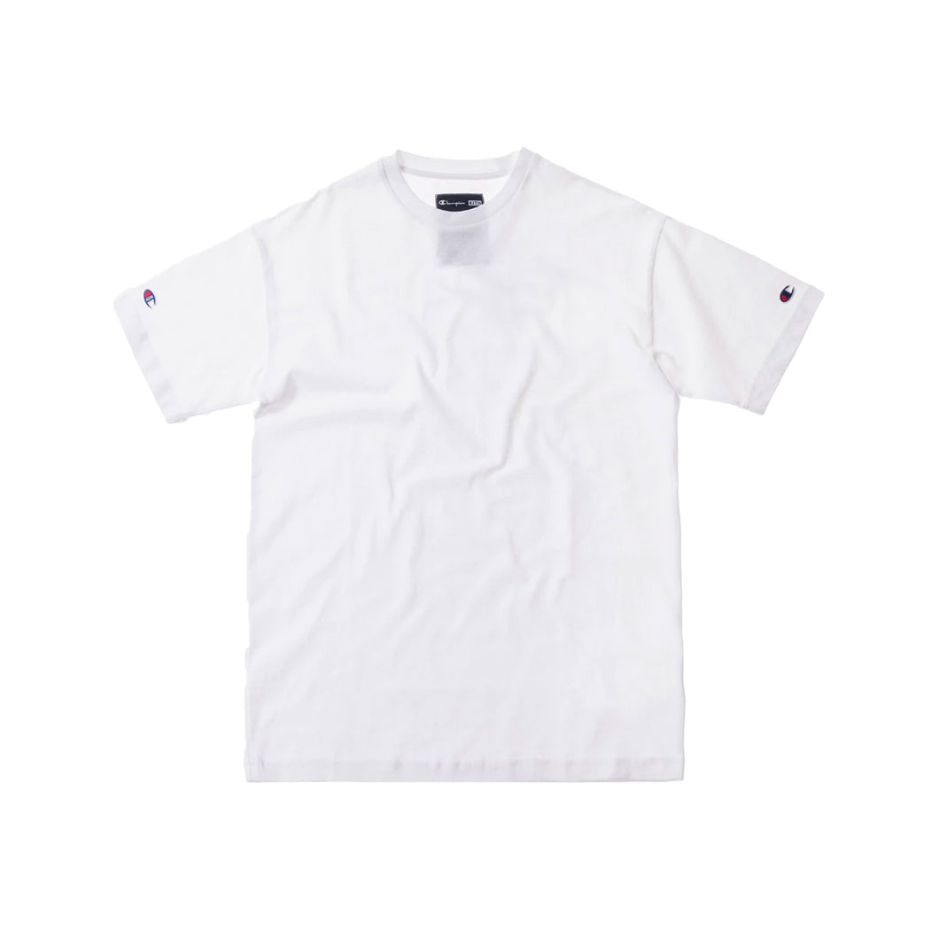 2410c4122041 Kith x Champion C Patch Tee - White – Solecase Malaysia
