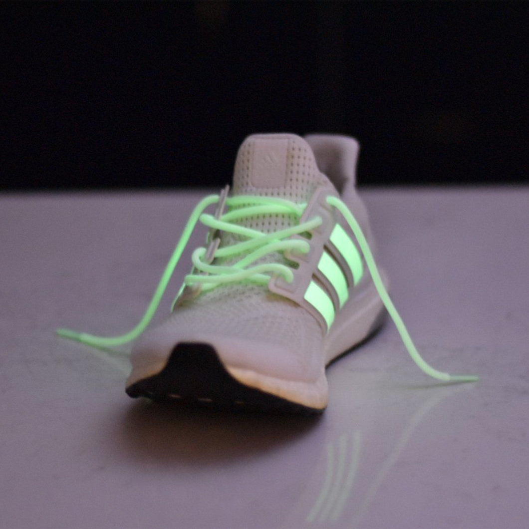 6791bfeb7eee Ultra Boost   NMD Basics Rope Laces - Glow In The Dark – Solecase ...