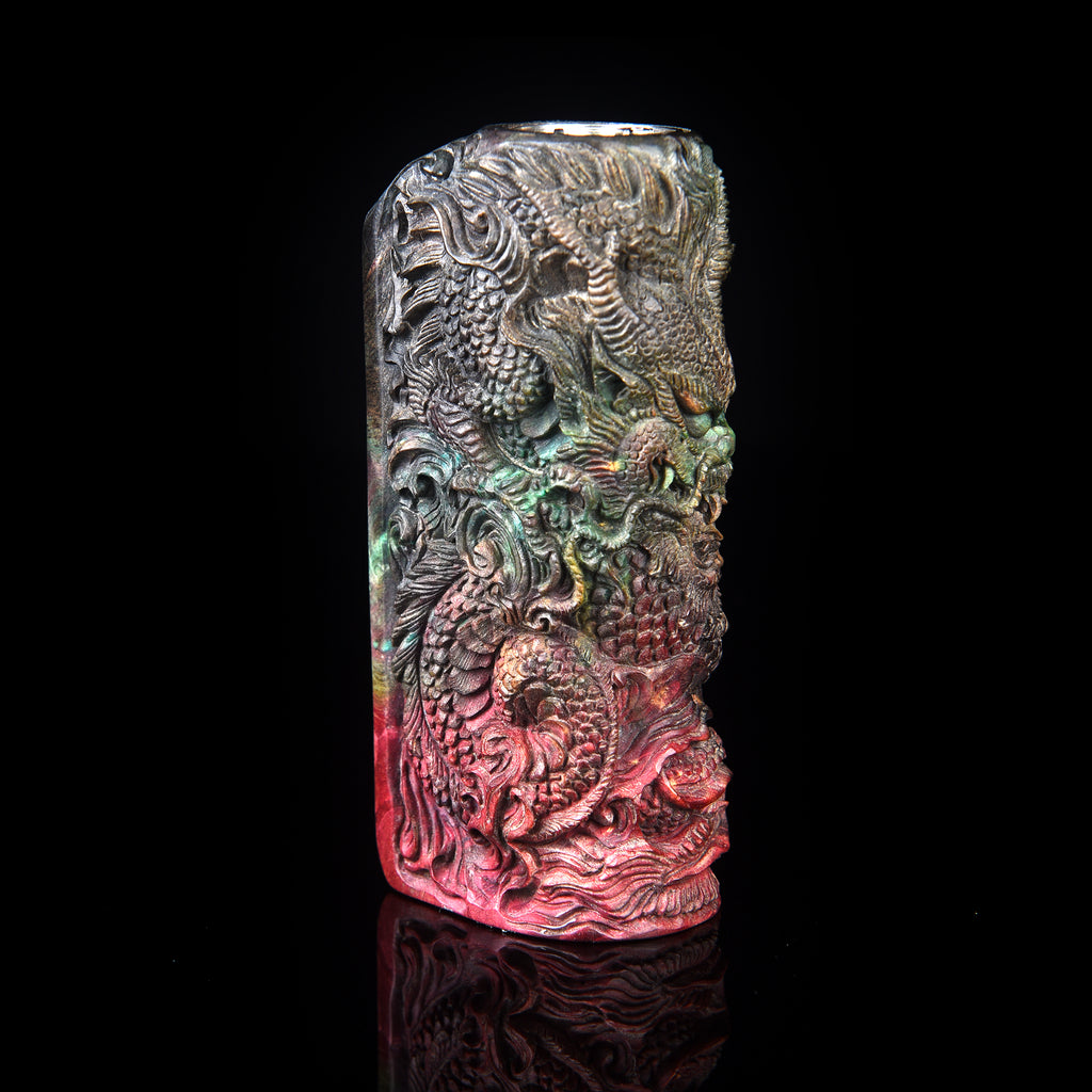 World Dragon • by Master Carver Tegal • DNA75C