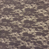 Super Soft Cotton/Nylon Lace - Black
