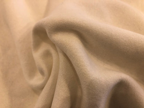 Organic Cotton/Hemp Fleece - Natural