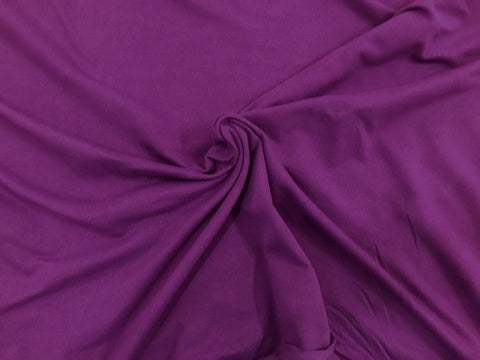 97/3 Cotton/Lycra Jersey - Grape