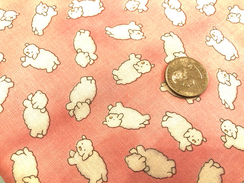 Baby Sheep - Quilting Weight 100% Cotton - Powder Pink