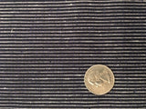 Organic Cotton/Hemp Shirting - Mini Stripe Black & White