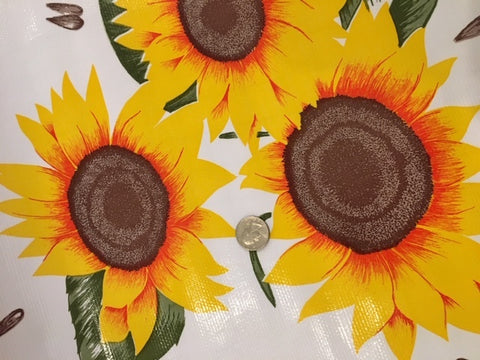 Oil Cloth - Sunflowers