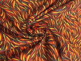 Silky Soft Quilting Weight Cotton from Australia - Chili Pepper Feathers