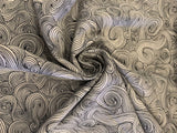 Medusa's Haircut - Black and White -  100% Cotton - Quilting Weight