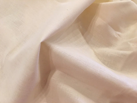 "Organic Cotton/Hemp ""Linen"" - Natural Undyed"