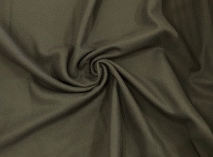 100% Wool Coating - Sage Green