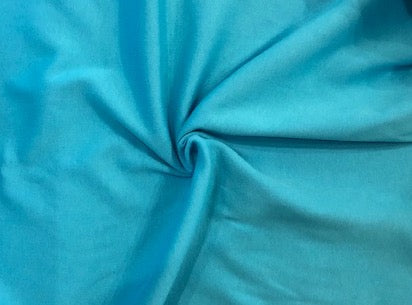 100% Cotton Interlock - Arizona Turquoise