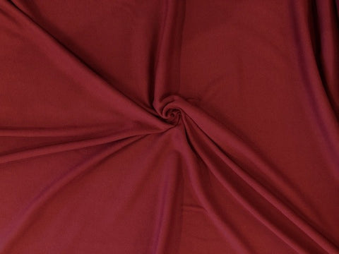 100% Cotton Interlock - Garnet