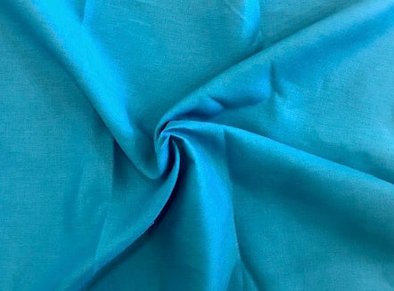 100% Linen - 4oz - Dark Bright Turquoise