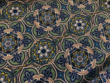 Blue & Green Moroccan Tiles Quilting Cotton