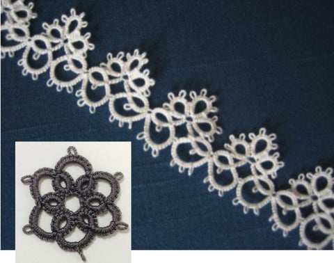Learn To Needle Tat Lace - 2 hours private lesson