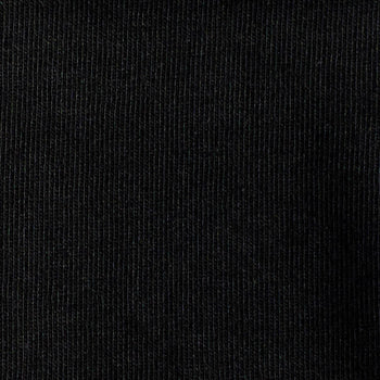 Organic Cotton/Lycra Jersey - Black