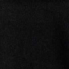 Organic Cotton Soy French Terry - Classic Black