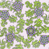 Tudor Rose Exclusive Print - Ecru