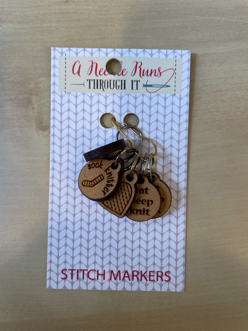 Stitch Markers from A Needle Runs Through It