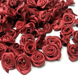 Bag of Satin Roses - 60 pack - Choose your colors