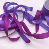 "1/4"" Wide Pure Silk Ribbon -  Great for ribbon embroidery - Choose your colors!"