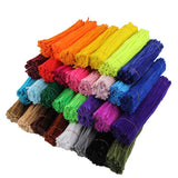 "Fifty 11.75"" Chenille Stems For All Your Crafting Needs - Assorted Colors, or Pick Your Own"
