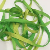 "Pure Silk 1/4"" Ribbon - New Grass"