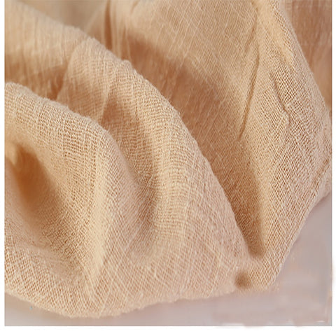 This Linen/Cotton Gauze is Practically Elvish - Peach