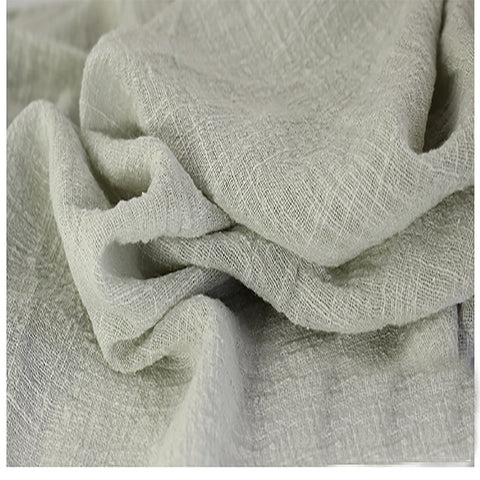 This Linen/Cotton Gauze is Practically Elvish - Dove Gray