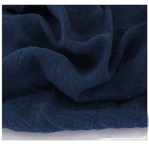 This Linen Cotton Gauze is Practically Elvish - Navy