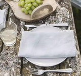 Two 100%Pure Linen Cloth Table Napkins