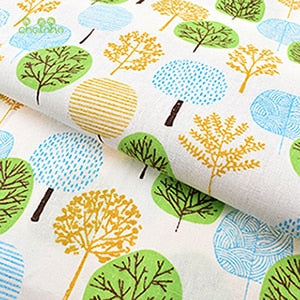 Classic Japanese Prints on Luscious Cotton/Linen Blend - Orchard