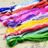 100% Silk Embroidery  Thread - Multi Skein Value Pack