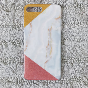 Marble case (Pink & Gold)