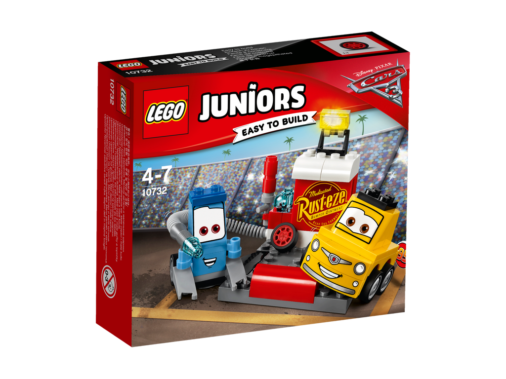 LEGO® Juniors Guido and Luigi's Pit Stop #10732