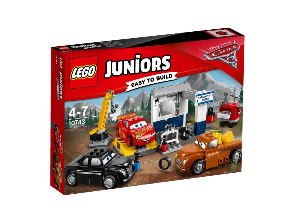LEGO® Juniors Smokey's Garage #10743