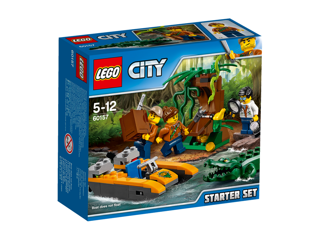 LEGO® City Jungle Explorers Jungle Starter Set #60157